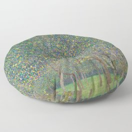 Gustav Klimt - Pear Tree Floor Pillow