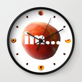 """The """"i"""" word, it is time! Wall Clock"""