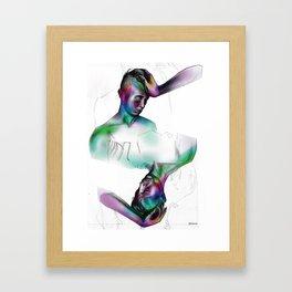 you / uoy Framed Art Print