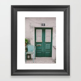 Welcome to my home Framed Art Print