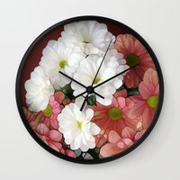 geisha Wall Clocks featuring Geisha by Joke Vermeer