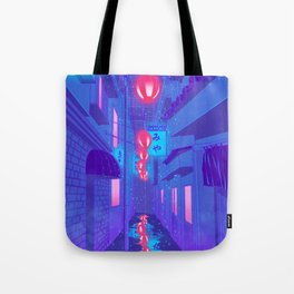 Shibuya Nights Tote Bag