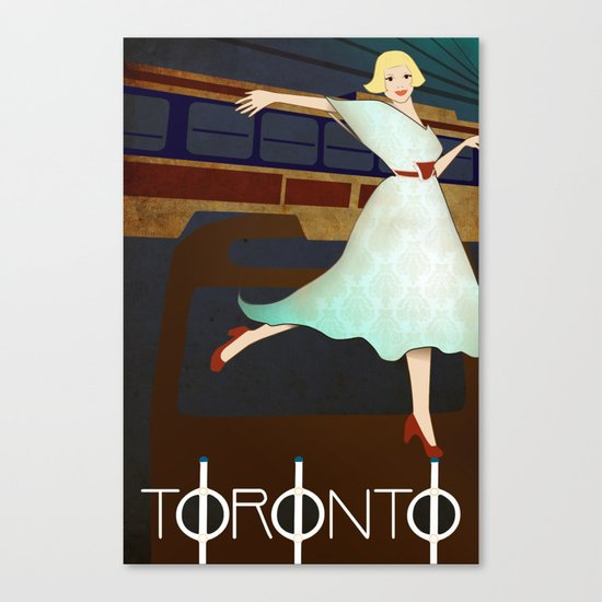 Toronto Transit Canvas Print