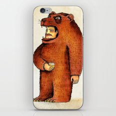 Oso pico tibio iPhone & iPod Skin