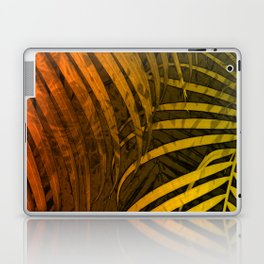 TROPICAL LEAVES GREEN MOCCA no1 Laptop & iPad Skin