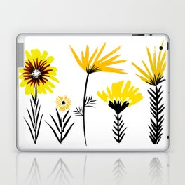 Sunny Days Ahead / floral art Laptop & iPad Skin