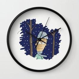 I hate winter Wall Clock