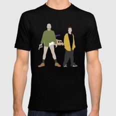 Breaking Bad Mens Fitted Tee MEDIUM Black