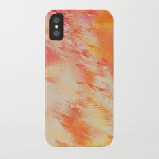 Feathers abstraction iPhone X Slim Case
