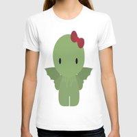 cthulu T-shirts featuring Cthulu Kitty by TeiMari Arts