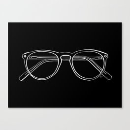 Spectacles (Inverse) Canvas Print