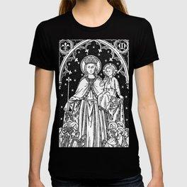 Child Jesus and Mary T-shirt