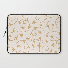 Baroque Design – Gold on Cream Laptop Sleeve