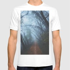 Magic forest MEDIUM Mens Fitted Tee White