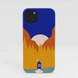Tiny House Moon iPhone Case