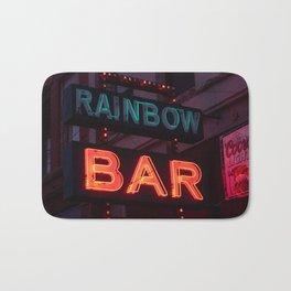 Rainbow Bar - Sheridan, WY Bath Mat