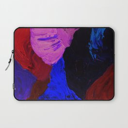 Abstract Feathers by Robert S. Lee Laptop Sleeve