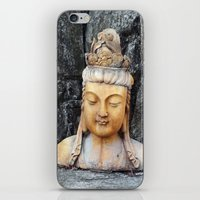 asian iPhone & iPod Skins featuring ASIAN GODDESS by JANUARY FROST