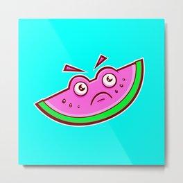 Sour Watermelon Metal Print