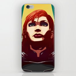 Mass Effect - Commander Jane Shepard iPhone Skin