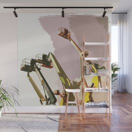 Lifts Wall Mural