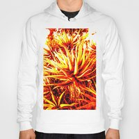 cacti Hoodies featuring CACTI by Charles Harry Mackenzie