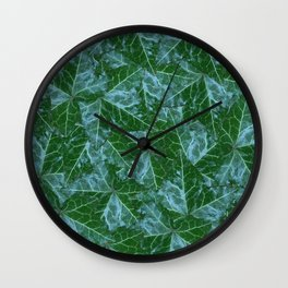 Myrtle Ming English Ivy Wall Clock