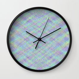 Wild Night Out Wall Clock