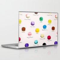 macarons Laptop & iPad Skins featuring Macarons   by Viola Brun Designs