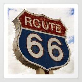 U.S. Route 66  Art Print