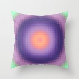 Ripple I Pixelated Throw Pillow