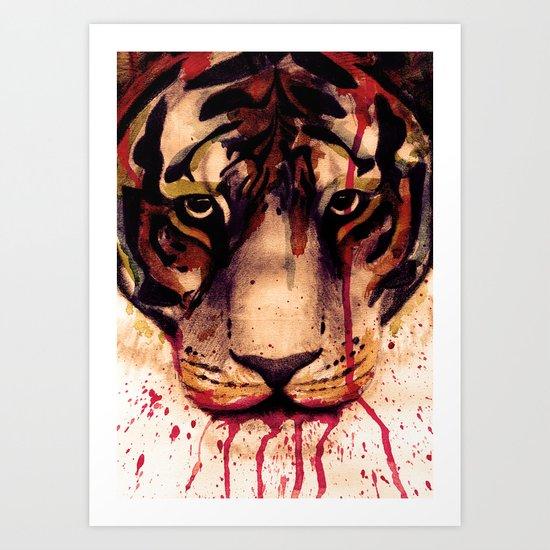 Tyger! Tyger! Burning Bright! Art Print