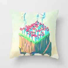 Triplex Throw Pillow