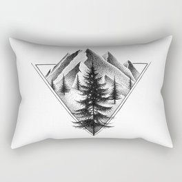 NORTHERN MOUNTAINS II Rectangular Pillow
