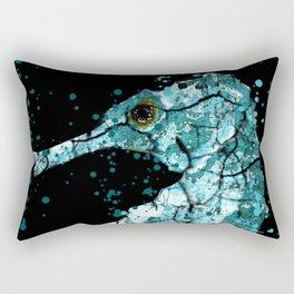 Seahorse Ocean Deep Rectangular Pillow