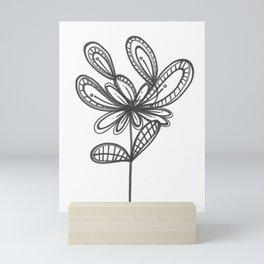 Doodle Bud Mini Art Print