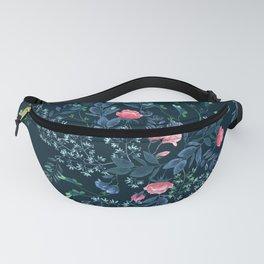 Floral - Blue & Pink Fanny Pack