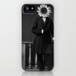 Smart Sunflower.1885. iPhone Case