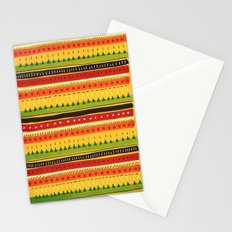 Pattern Doodle (Yellow) Stationery Cards