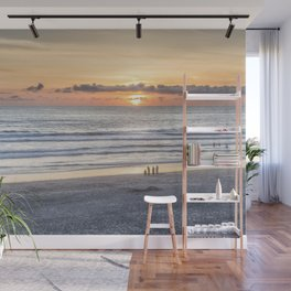 Watching the Sun Go Down Wall Mural
