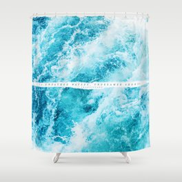 undreamed shores Shower Curtain
