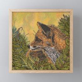 Ferny Fox Framed Mini Art Print