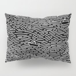 Dark Navigator Pillow Sham