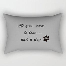 Love Dogs Rectangular Pillow