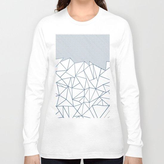 Ab Lines 45 Blues Long Sleeve T-shirt