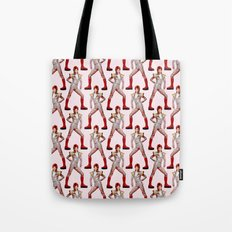 David Bowie Choreography Tote Bag