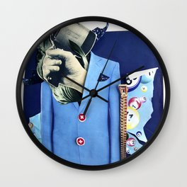 Lobotomy | Collage Wall Clock