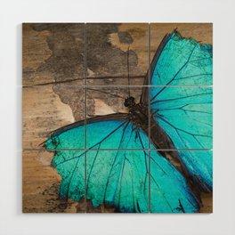 Weathered wings Wood Wall Art