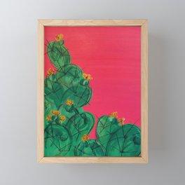 Prickly Pear Framed Mini Art Print