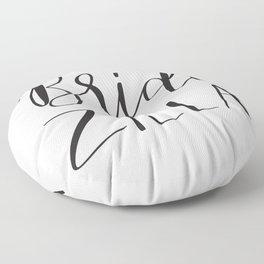 Bridezilla Floor Pillow